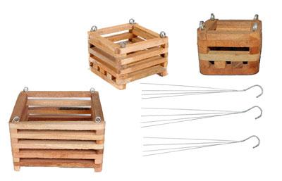 4 in twelve baskets, with hanger