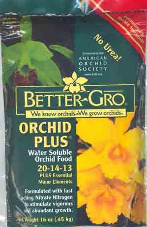 Urea Free Orchid Plus Fertilizer 20-14-13