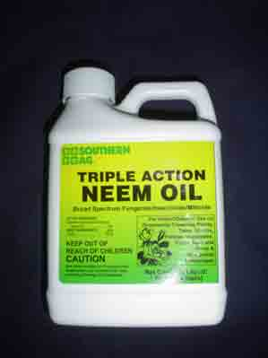 Triple Action Neem Oil   8 Oz.