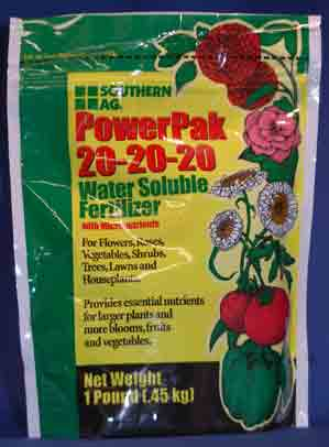 All Purpose Orchid fertilizer 20-20-20